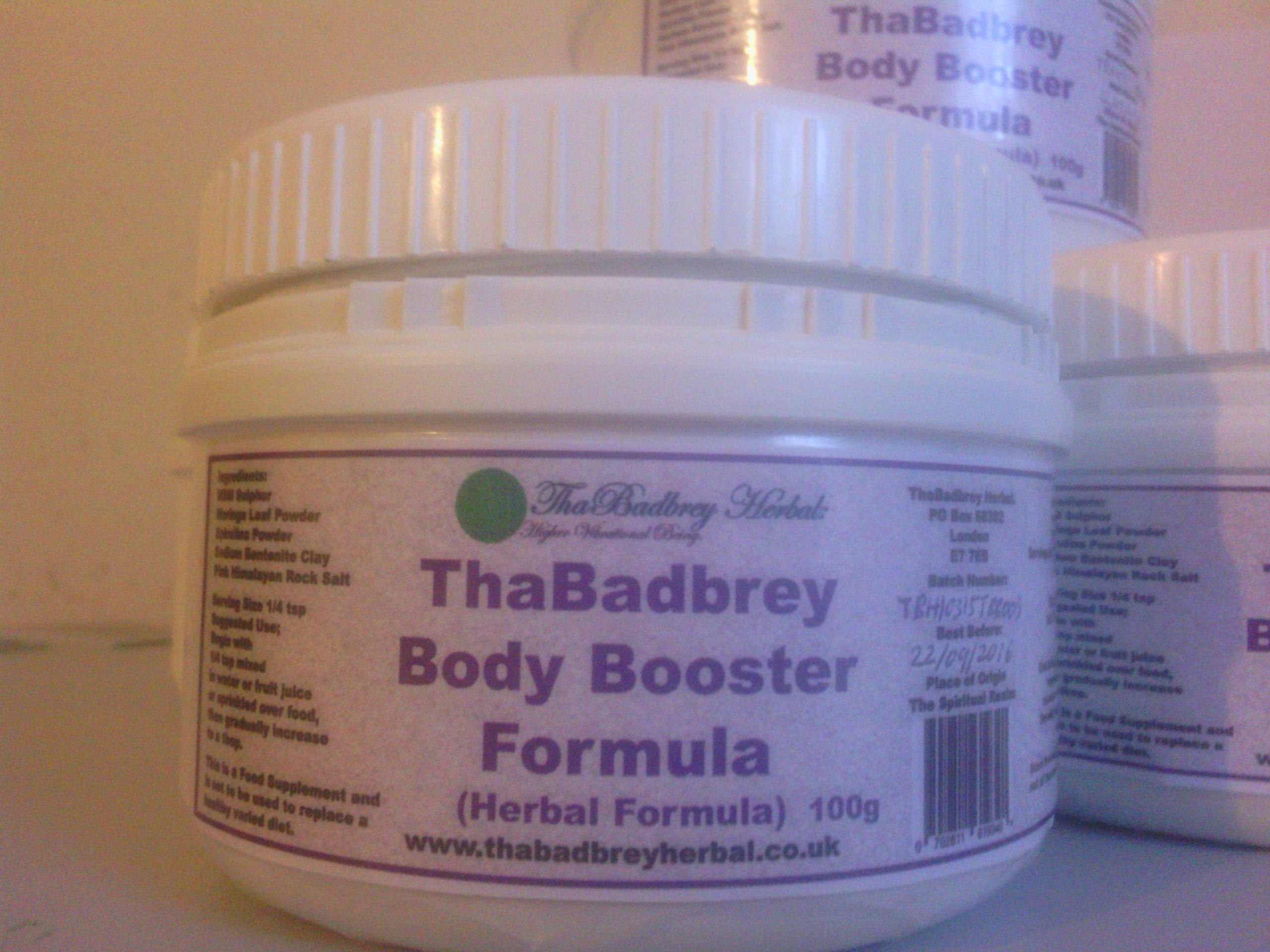 ThaBadbrey Body Boosting Formula!