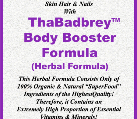 Skin Hair & Nails Herbs Formula